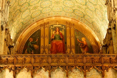 Woolworth Building Mezzanine Painting